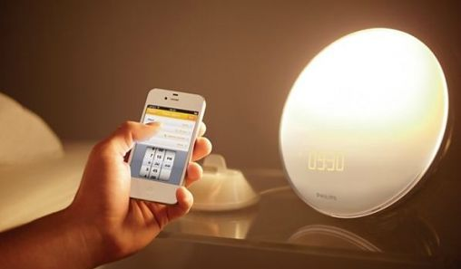 Philips Wake-up light 2012