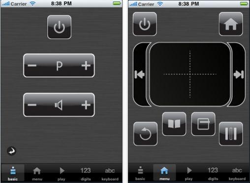 Philips WiFi Remote iPod, iPhone en iPad App 2