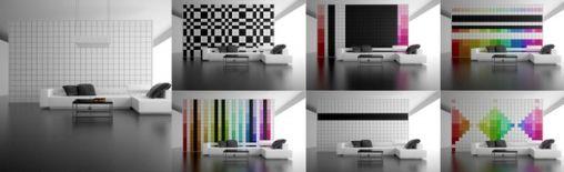Pixel Wall: elke dag een Nieuwe Interieur