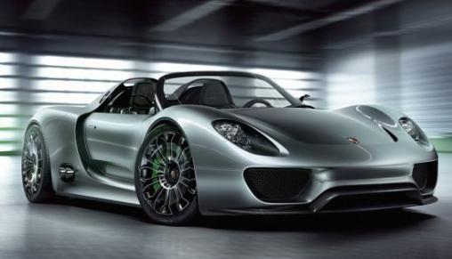 Porsche 918 Spyder plug-in Hybride Concept