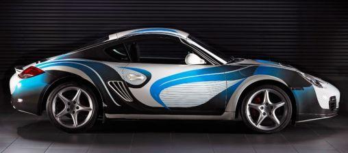 Radically Porsche Cayman by DesignBoom