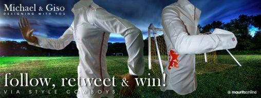 ReTweet-Actie to Support in Style met Michael & Giso!!!