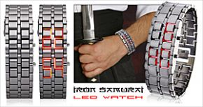 Review: Iron Samurai LED-horloge