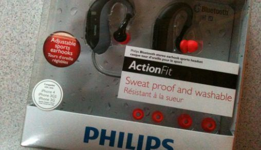 Review Philips ActionFit bluetooth headset