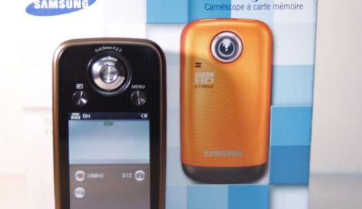 Review : Samsung Memory Cam HMX-E10