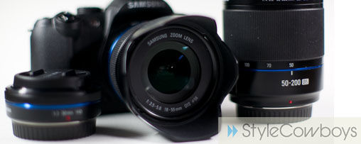 Review Samsung NX10