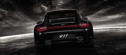 Rijden in een Porsche Black Legend