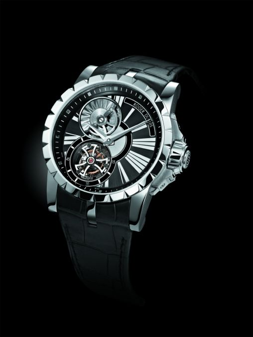 Roger Dubuis Excalibur self-winding met micro-rotor en flying tourbillon - 1 -