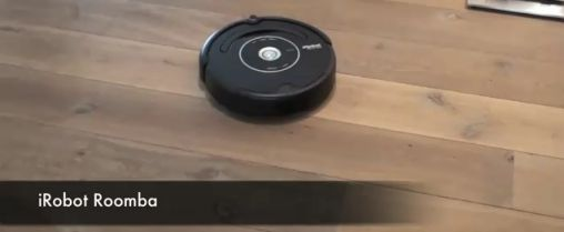 Roomba iRobot Stofzuiger by Kinect