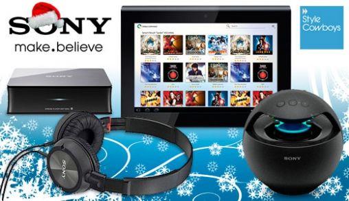 RT en maak kans op Multimedia pakket in de Sony Lucky Christmas Show #SLCS