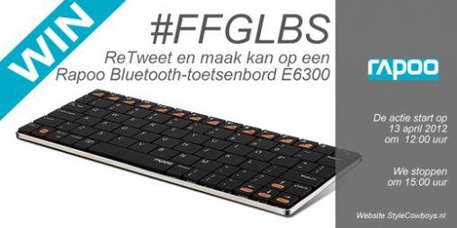 RT en maak kans op Rapoo Ultra toetsenbord voor je iPad #FFGLBS