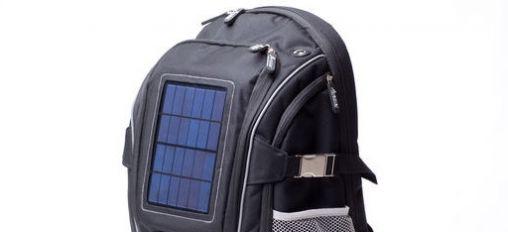 Rugzak met zonne-energie