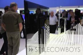 Samsung 3D televisie dunner dan een Potlood (C9000)