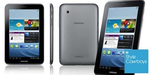 Samsung Galaxy Tab 2 niet spectaculair