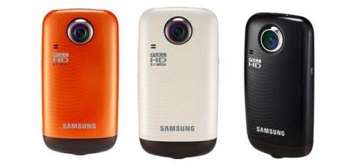 Samsung HMX-E10 pocketformaat Full-HD camcorder