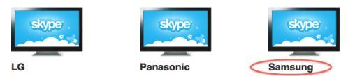 Samsung komt ook met Skype TV
