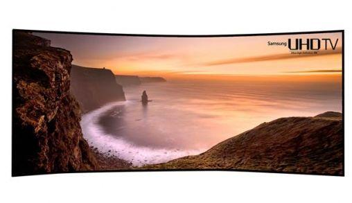 Samsung 's werelds eerste Curved UHD TV's
