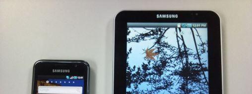 Samsung Tablet tijdens IFA 2010