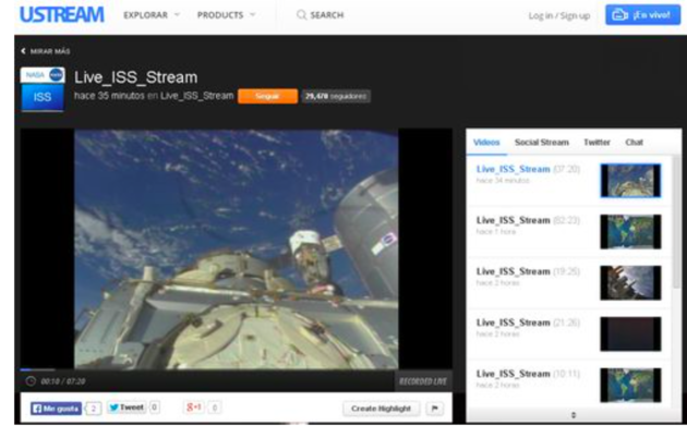 ISS Stream