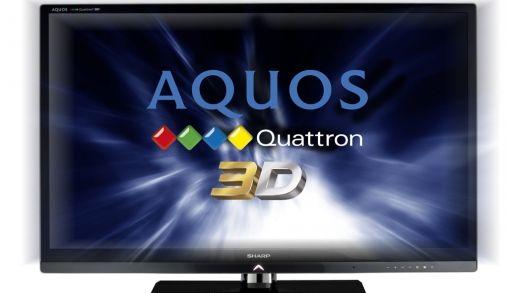 Sharp toont tweede generatie Quattron TV's