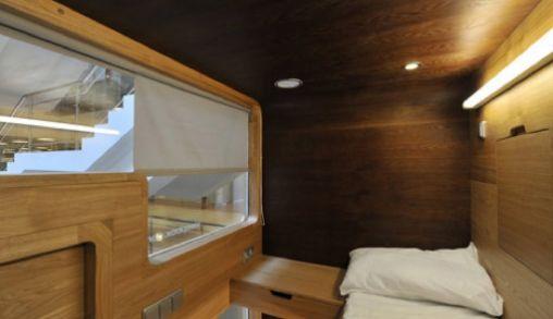 Sleepbox, en public een dutje doen