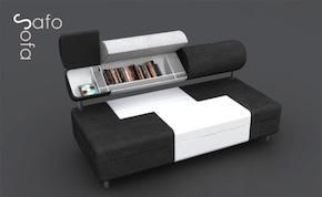 Sofa Sofa: Handige Design Bank met Opbergvakken