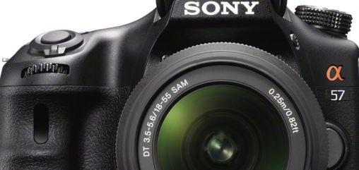 Sony Alpha 57 spiegelreflexcamera