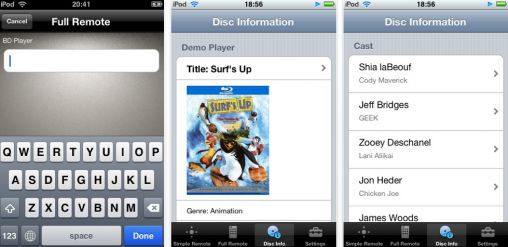 sony bluray app