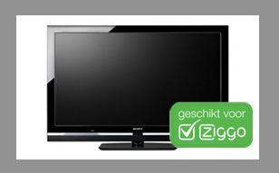 Sony BRAVIA met Ingebouwde Ziggo Smartcard