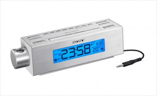sony-clock-radio-with-proje