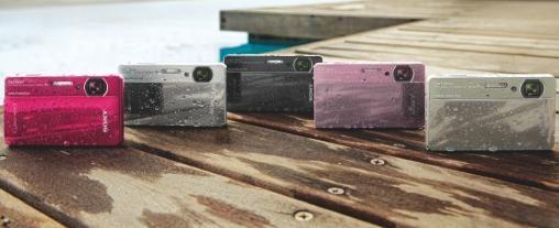 Sony introduceert waterproof digitale camera