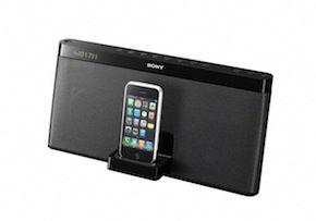 Sony komt met Draagbaar iPod/iPhone Speaker Dock