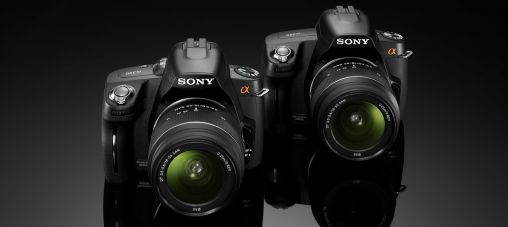 Sony nieuwe Alpha DSLR-A390 en DSLR-A290