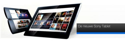 Sony S1 Tablet wordt morgen gepresenteerd tijdens IFA 2011