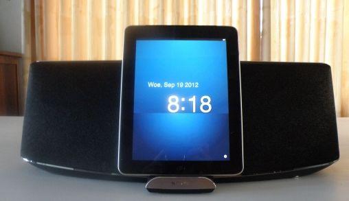 Sony XA900 speakerdock: mooi onopvallend