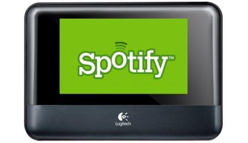 Spotify op Logitech Squeezebox
