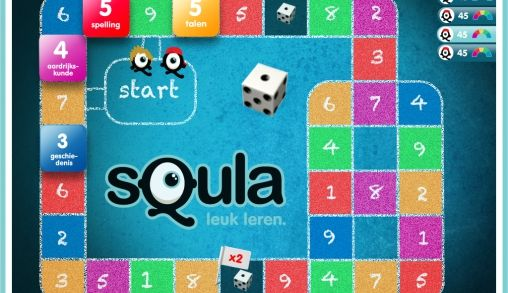 Squla Familiebordspel nu op de iPad