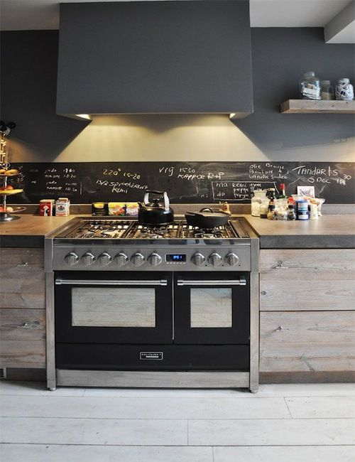 Steigerhout-keuken