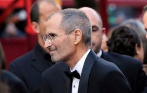 Steve Jobs en iPad op Oscar Uitreiking
