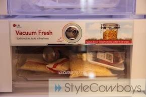 Stijlvolle LG-koelkast Vacuum Fresh