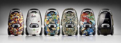 Stofzuigers gemaakt van Afvalplastic uit de Noordzee