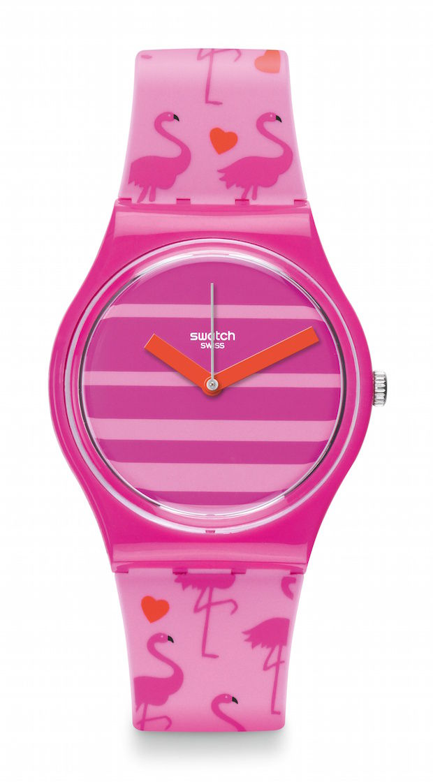 Swatch Miami peach