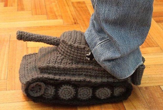 tank aan je voeten