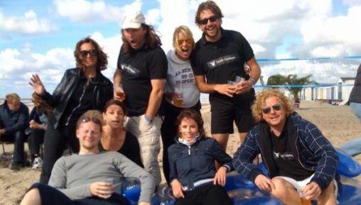 Team DutchCowboys niet in de prijzen tijdens Strandvolleynet