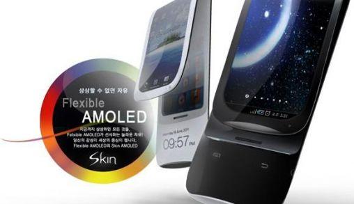 Telefoon met flexibel scherm [concept]