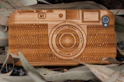 The LifeStyle Company - Signicase Bamboe Camera