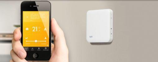 Thermostaat regelen via iPhone met TaDo