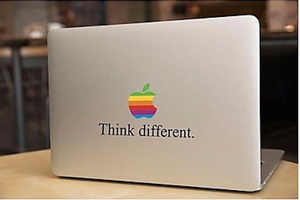 think different sticker