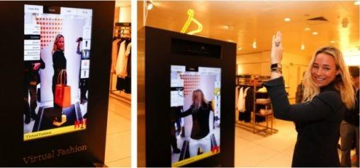 Toekomst van shoppen: virtuele paskamer