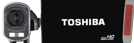 Toshiba komt met nieuwe Full HD-camcorders